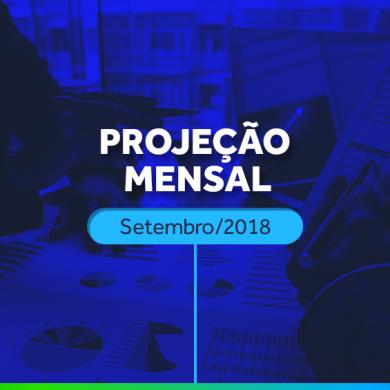projeção mensal setembro